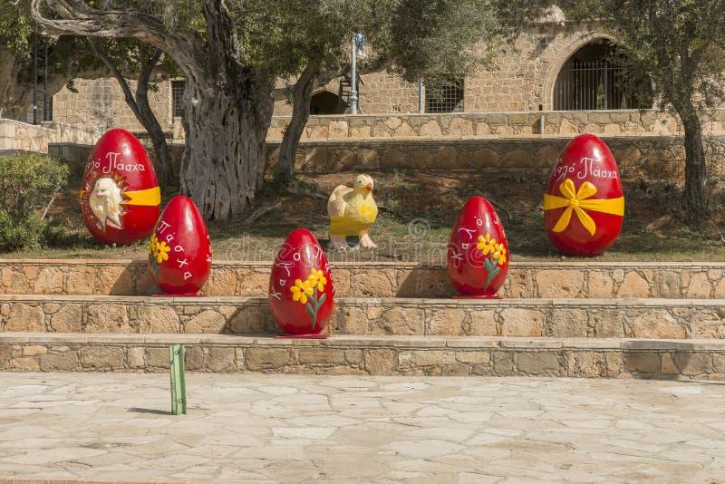 Décorations pour les vacances de Pâques image libre de droits
