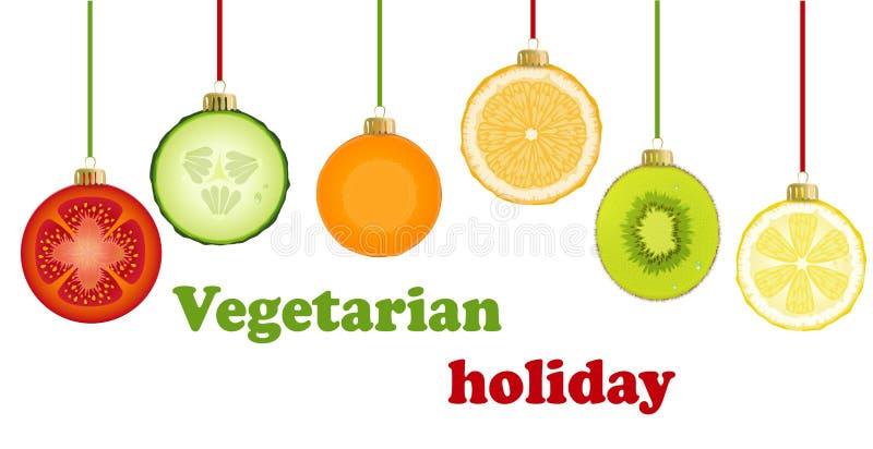 Décorations savoureuses de Noël illustration libre de droits
