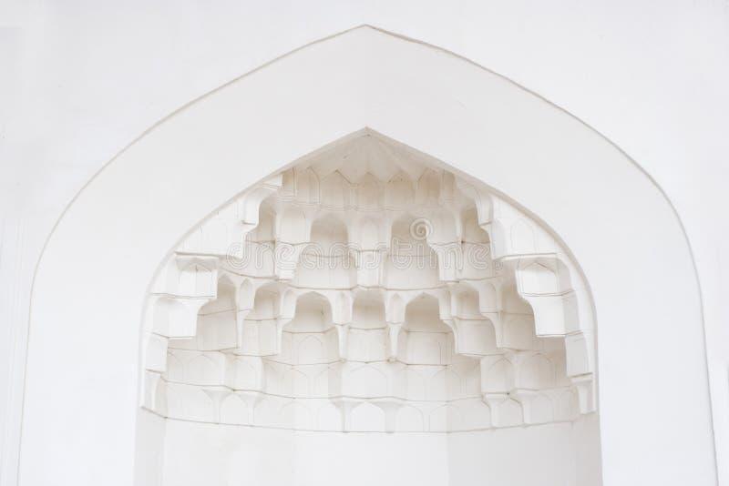 Décorez dans la mosquée photo libre de droits