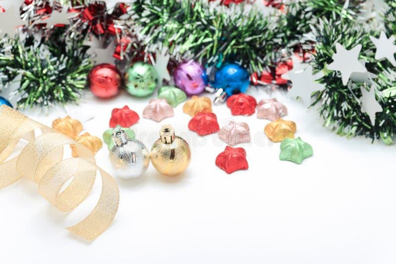Décorez de Noël ou nouvel année ou anniversaire, etc. Style doux et doux de ton dans le ton de vintage images libres de droits