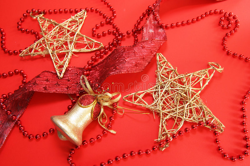 Décors de Noël images libres de droits