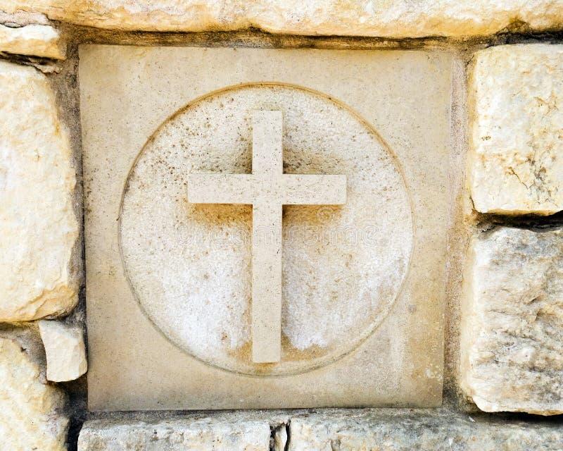 Découpée croix photographie stock libre de droits