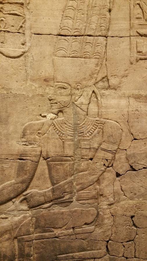 Découpage égyptien photographie stock
