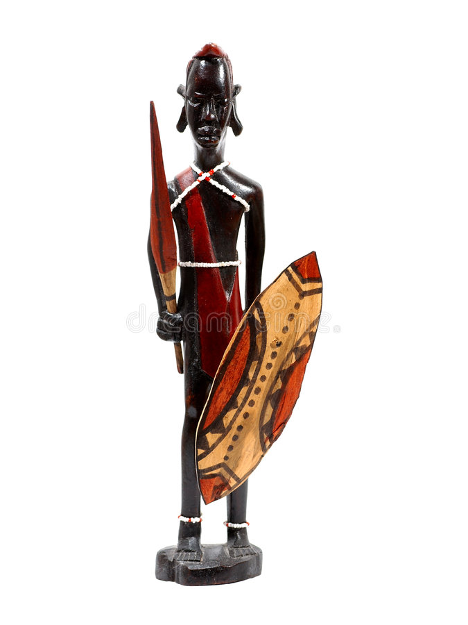 Découpage africain image stock