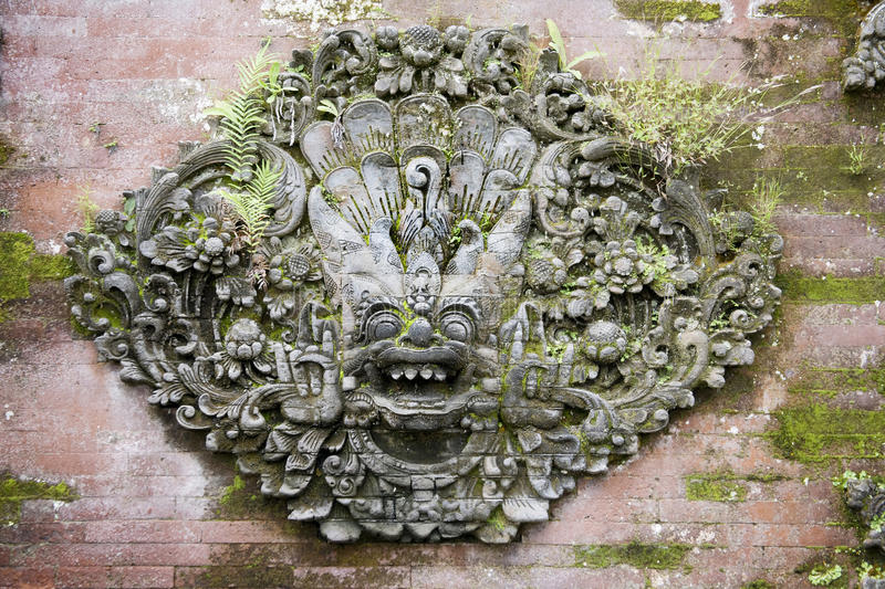 Découpage de Bali photographie stock