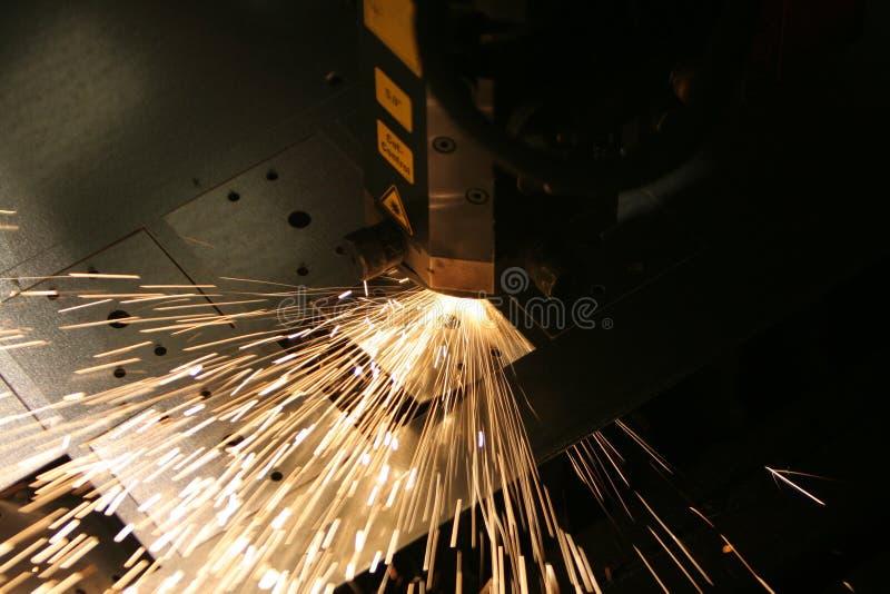Découpage de laser image libre de droits