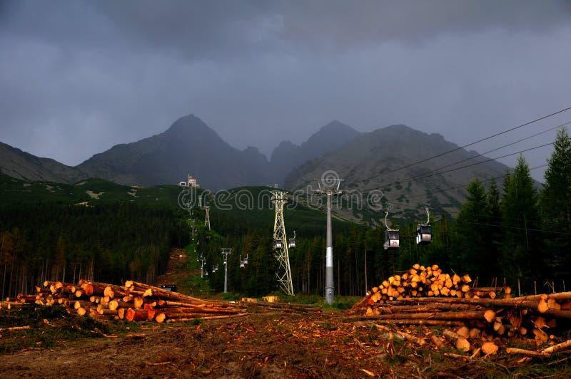 Découpage de récupération de catastrophe naturelle photographie stock libre de droits