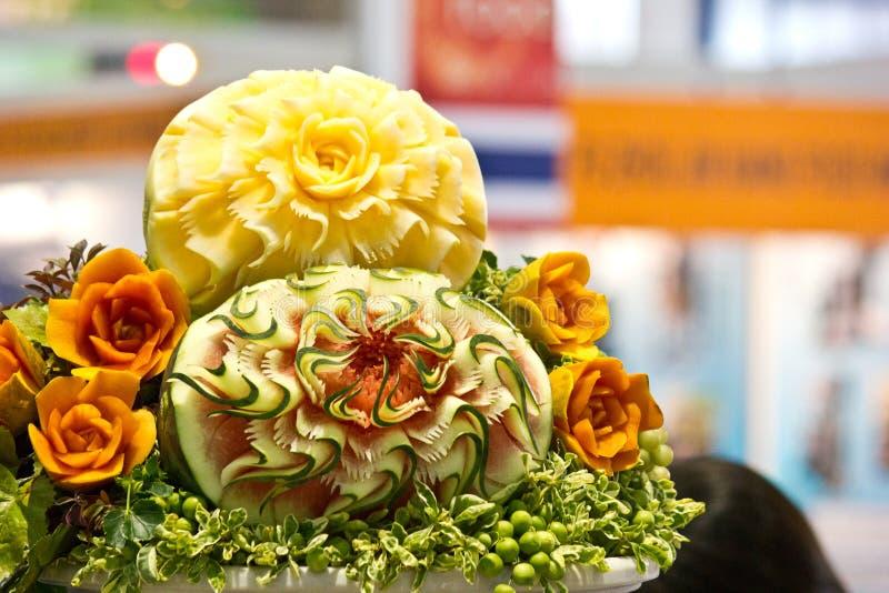 Découpage de Vegetabale photos stock