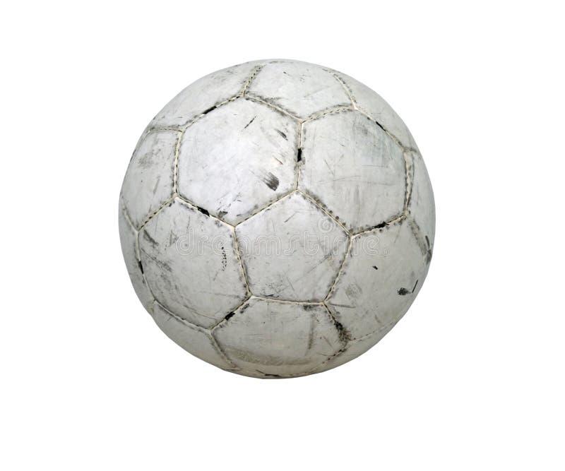 Découpage du football de bille de football photos stock
