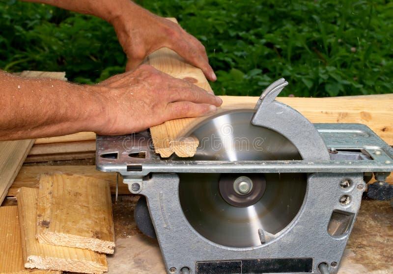 Découpage en bois photo libre de droits