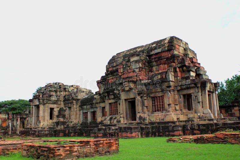 Découpage en pierre antique chez Korat Thaïlande images stock