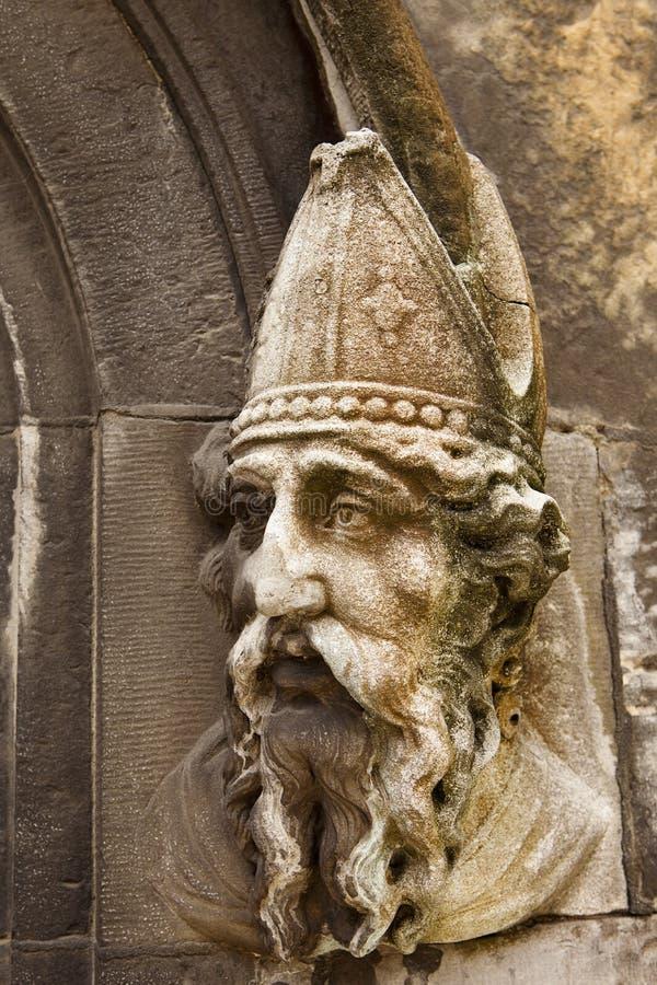 Découpage en pierre de Patrick de saint photo stock
