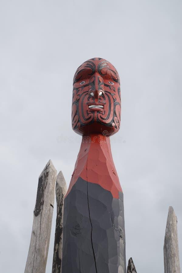 Découpages maoris 9 du Nouvelle-Zélande image libre de droits
