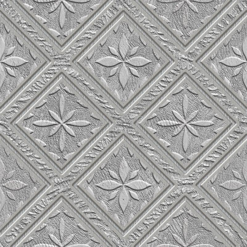 Découpant le modèle de places sur la texture sans couture de fond, modèle de patchwork, couleur en pastel, texture de plâtre, ill illustration libre de droits