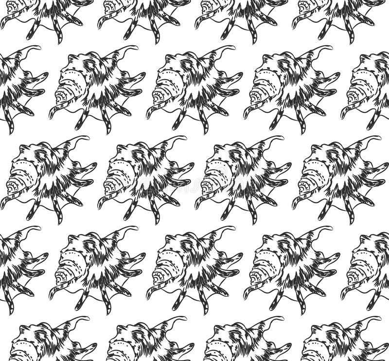 Découpe de noir de croquis illustration stock