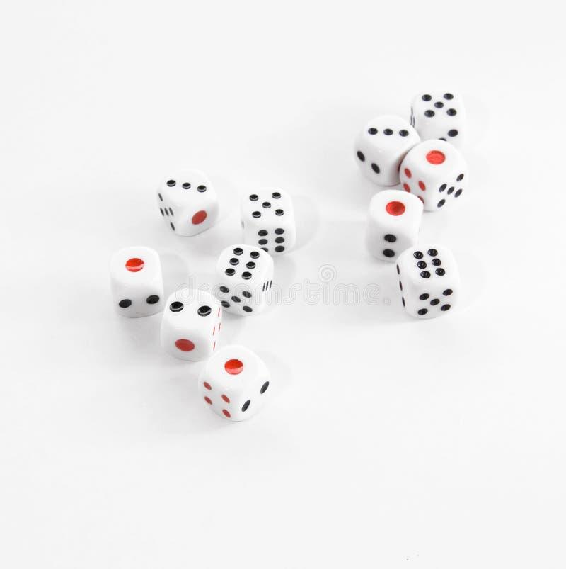 Découpe du casino photographie stock libre de droits