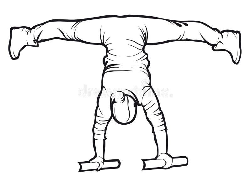 Découpe faisante femelle sportive d'exercice de séance d'entraînement de rue photos libres de droits