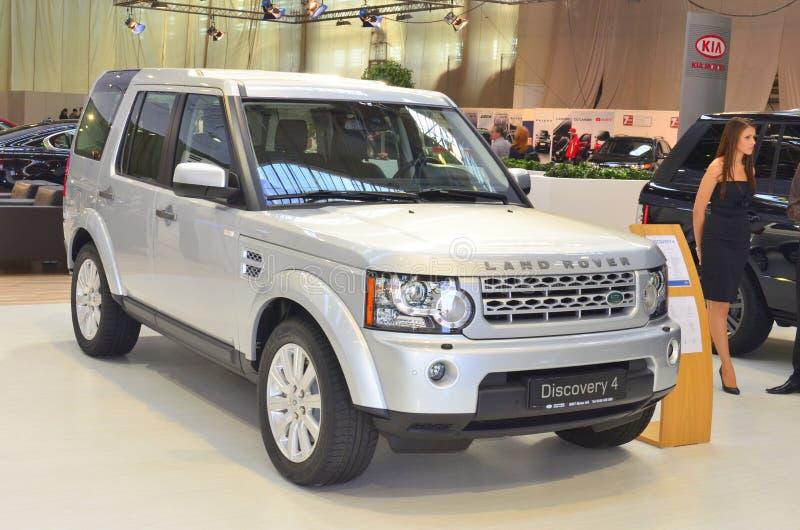 Découverte 4 de Land Rover à SIAB 2011 photo stock