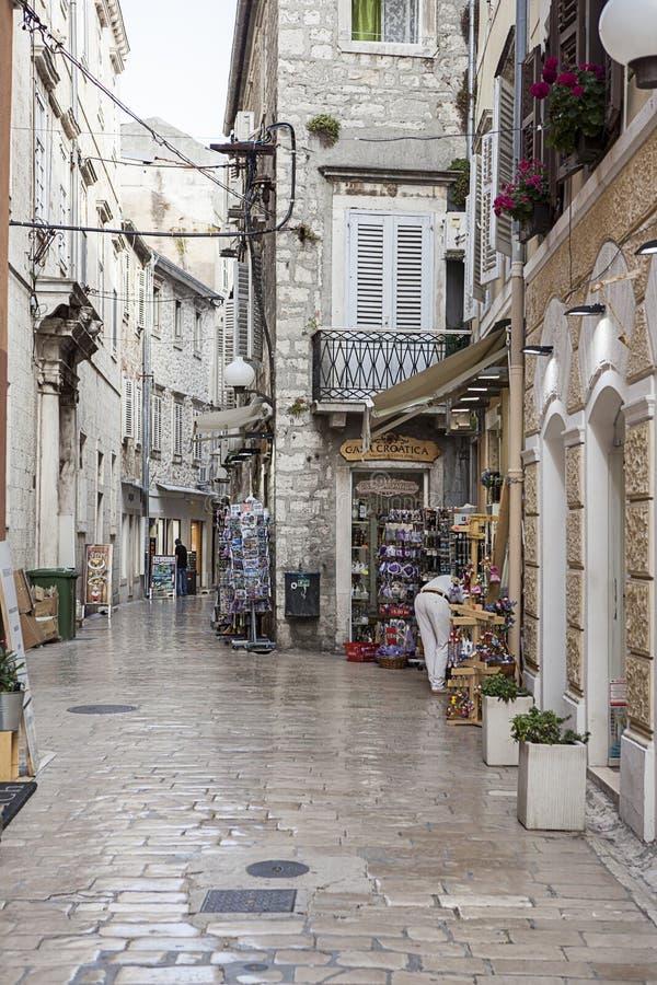 Dédoublez en Croatie, l'Europe photographie stock libre de droits