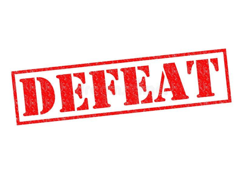défaite illustration libre de droits