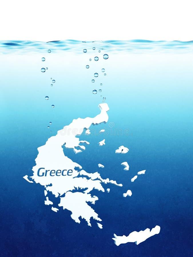 Défaut de Greeces illustration libre de droits
