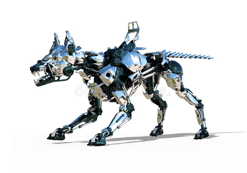 Défenseur 2 de RoboDog illustration stock