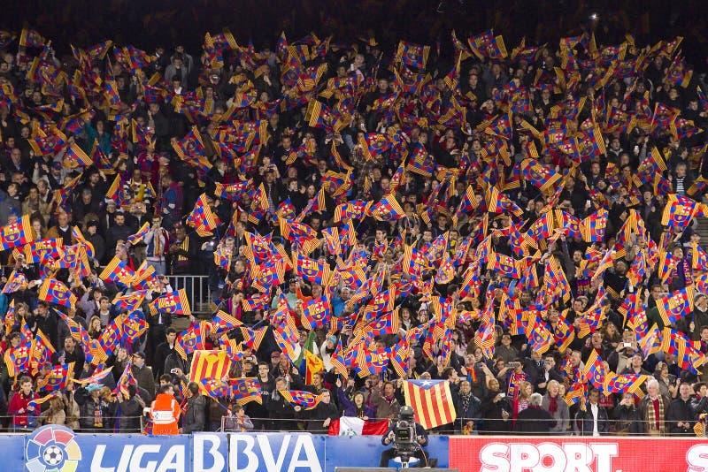 Défenseurs de FC Barcelona photos libres de droits