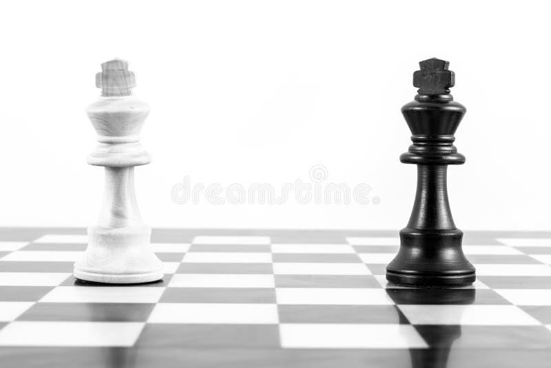 Défi d'échecs photographie stock libre de droits