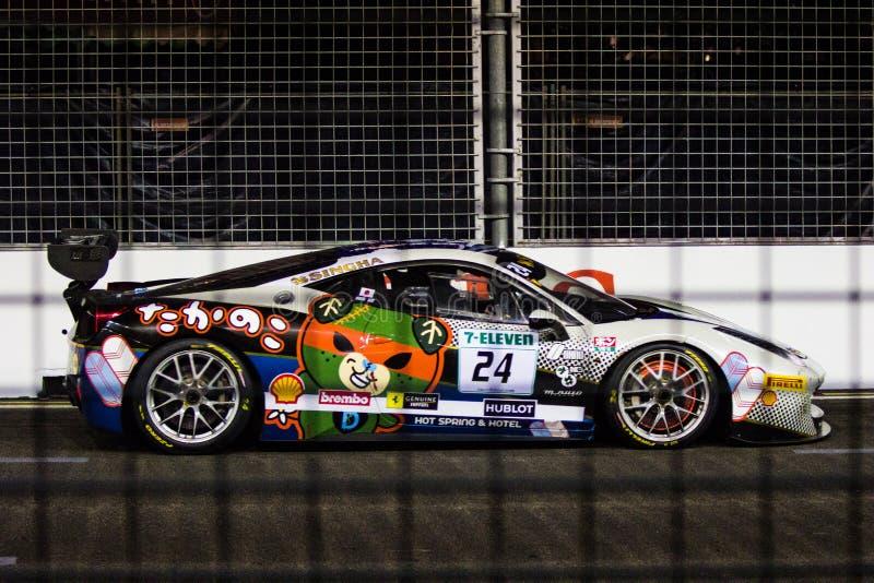 Défi de Ferrari photographie stock libre de droits