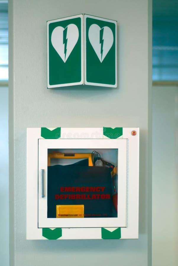 Défibrillateur de secours images stock