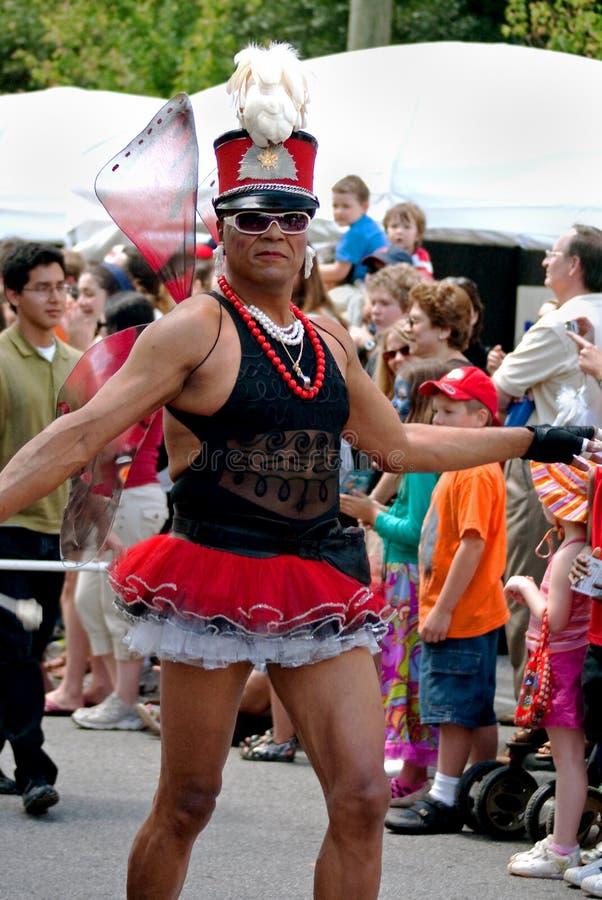 Défilé Atlanta la Géorgie de festival de source de stationnement d'Inman photographie stock