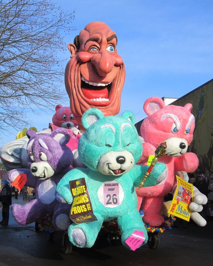 Défilé 2015 de carnaval Aalst photos stock