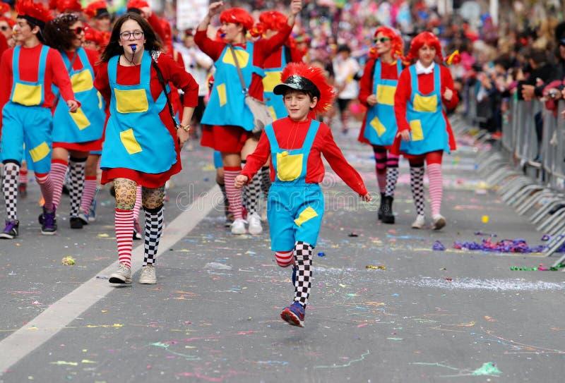 Défilé de carnaval, Limassol Chypre 2015 images stock