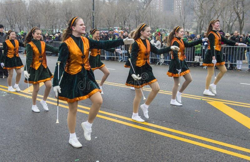 Défilé de Chicago St Patrick photographie stock libre de droits