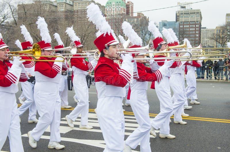 Défilé de Chicago St Patrick images libres de droits