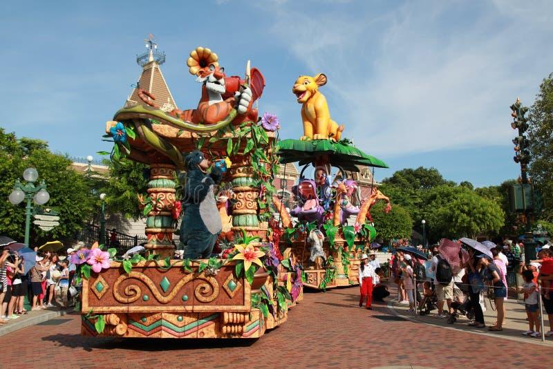Défilé de Disneyland photo libre de droits