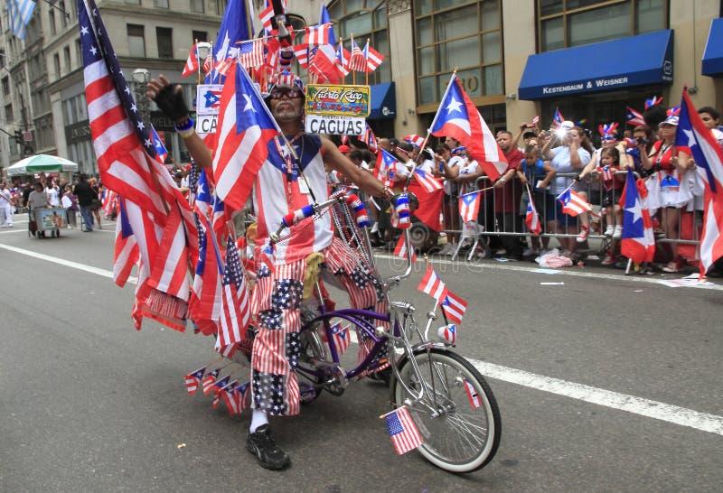 Défilé de jour de 2010 Portoricains photographie stock libre de droits