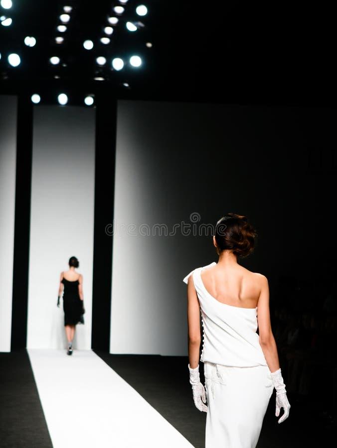 défilé de mode image libre de droits
