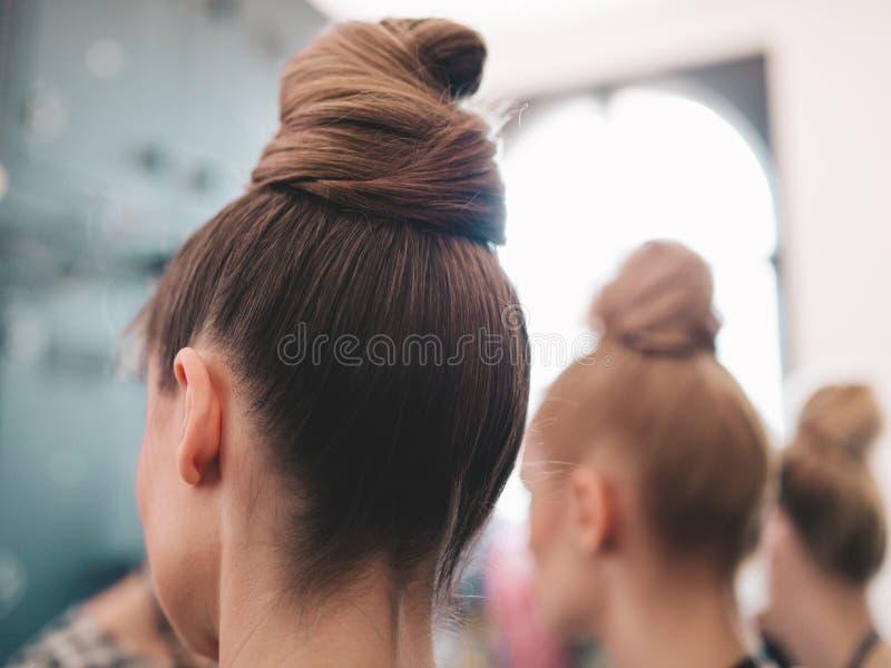 Défilé de mode, un événement de passerelle à l'arrière plan images stock