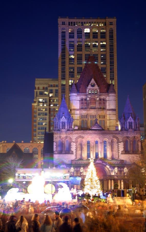Défilé de réveillon de la Saint Sylvestre à Boston, Etats-Unis photographie stock libre de droits