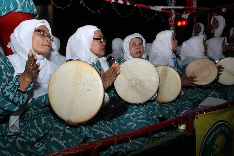 Défilé de tambour de basque images libres de droits