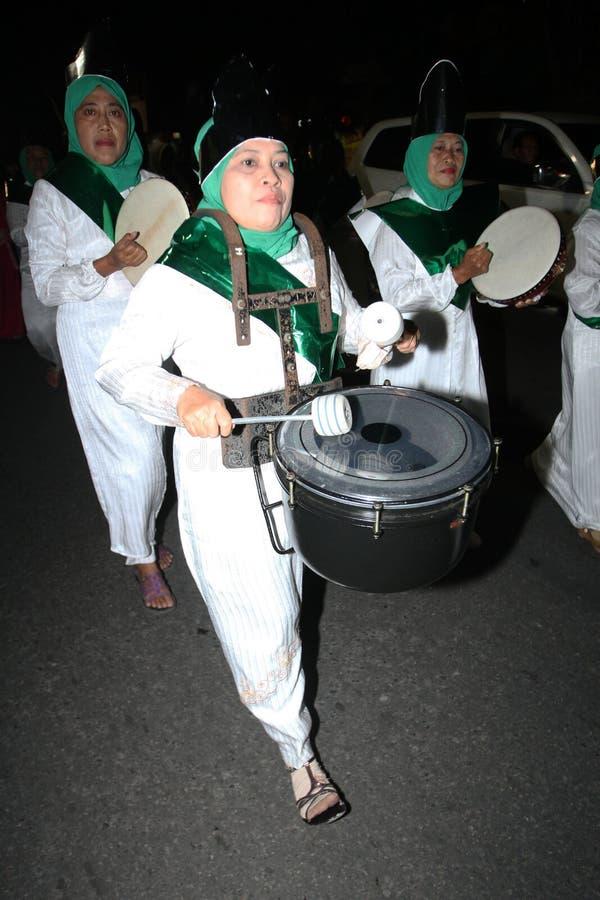 Défilé de tambour de basque images stock