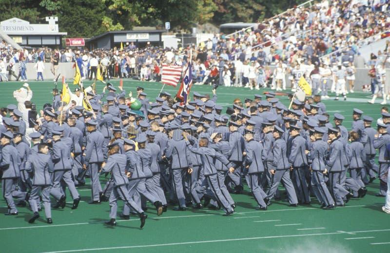 Défilé des cadets photo libre de droits