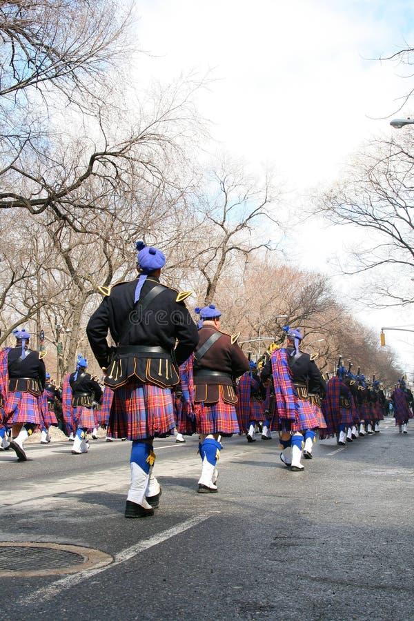 Défilé du jour de Patrick de saint, NYC photographie stock libre de droits