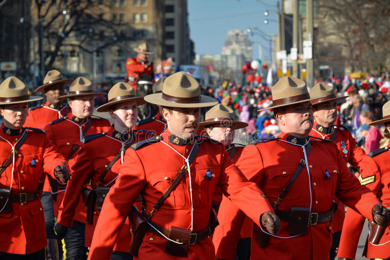 Défilé du père noël de Toronto 108th photo stock