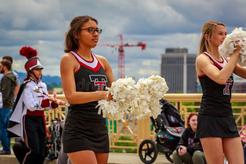 Défilé floral grand 2019 de Portland photographie stock libre de droits