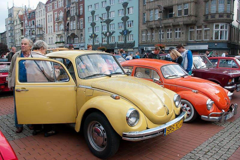 Défilé historique de véhicule photo stock