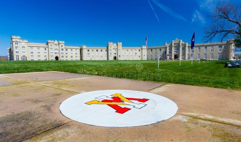Défilé rectifié chez Virginia Military Institute photo stock