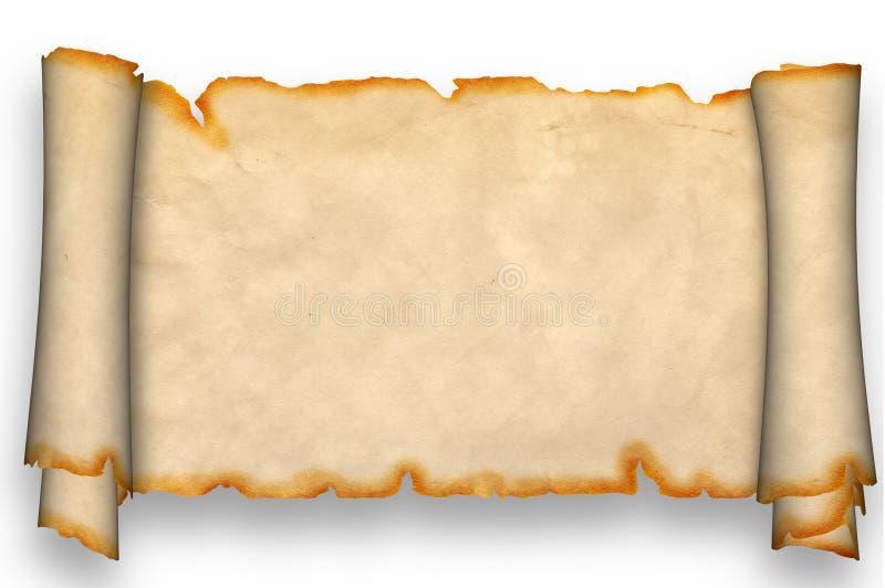 Défilement antique. illustration de vecteur
