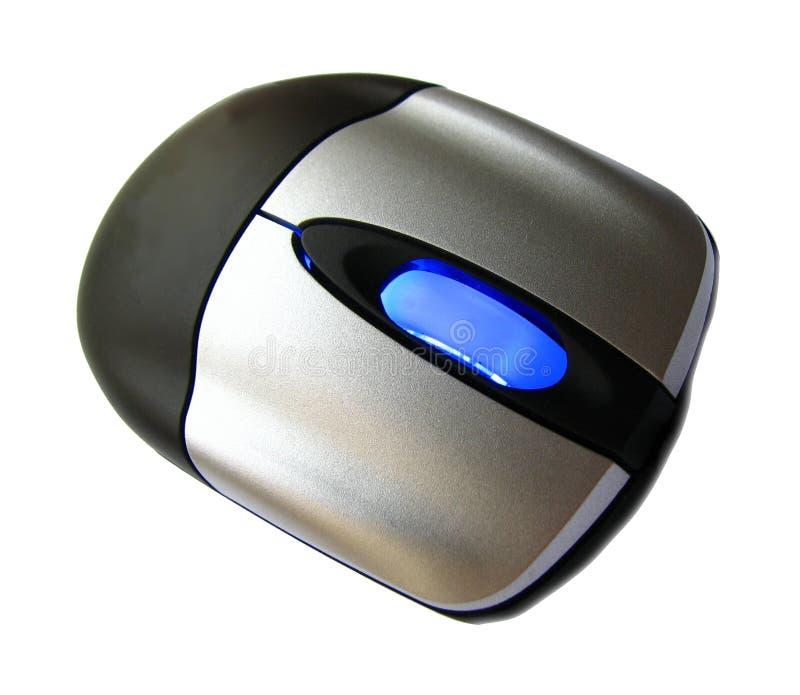 Download Défilement bleu de souris photo stock. Image du closeup - 8661422